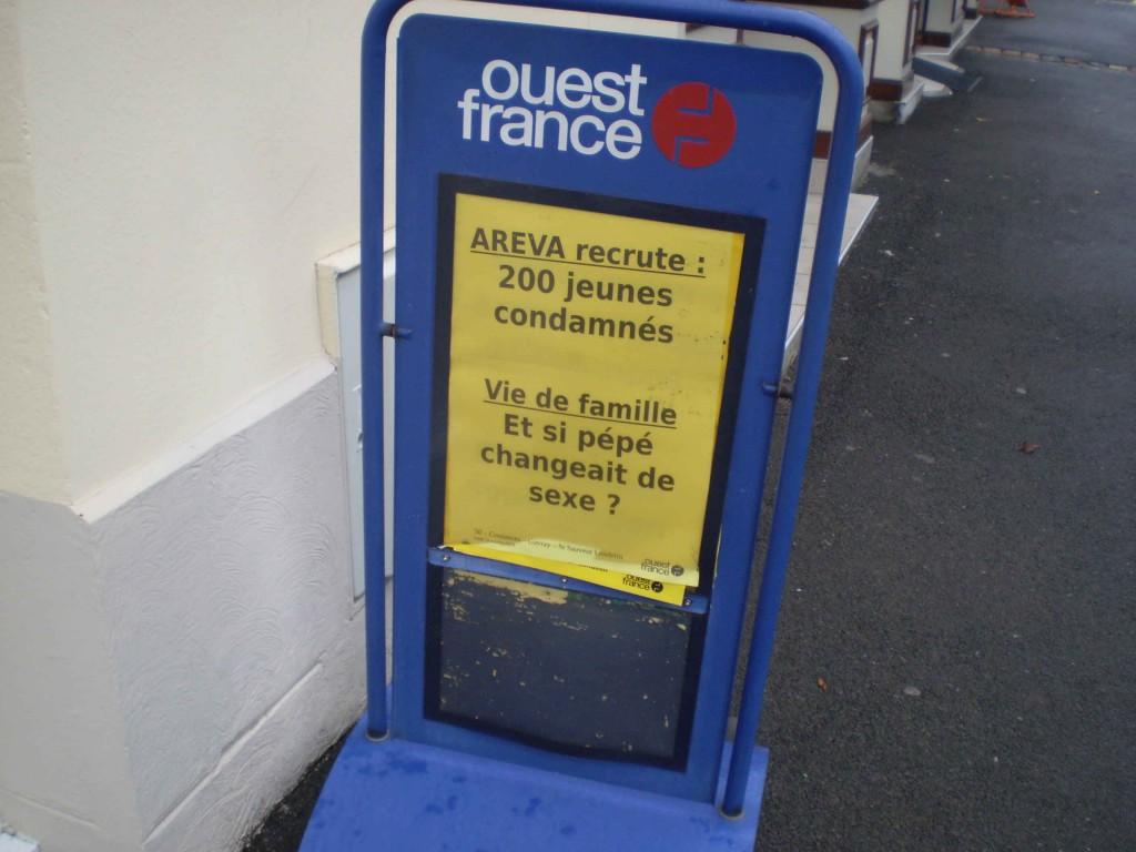 13octobre2014 Manchette Ouest-France 2